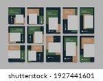 minimalist social media post... | Shutterstock .eps vector #1927441601