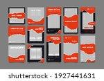 minimalist social media post... | Shutterstock .eps vector #1927441631