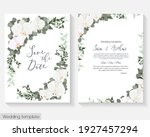 floral design for wedding... | Shutterstock .eps vector #1927457294