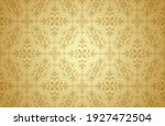 thai art and asian style luxury ... | Shutterstock .eps vector #1927472504