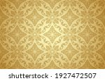 thai art and asian style luxury ... | Shutterstock .eps vector #1927472507