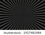 black sunburst pattern...   Shutterstock .eps vector #1927481984
