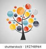 infographic templates for... | Shutterstock .eps vector #192748964