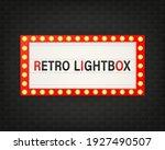 retro 3d advertising with retro ...   Shutterstock .eps vector #1927490507