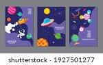 set of banner templates.... | Shutterstock .eps vector #1927501277