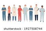 doctors  medical workers ... | Shutterstock .eps vector #1927508744
