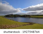 The Lake Llyn Du Surrounded By...
