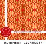 seamless geometric pattern.... | Shutterstock .eps vector #1927553357