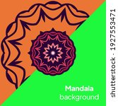 flower mandala. printable... | Shutterstock .eps vector #1927553471