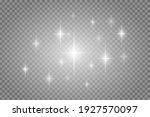 vector star light glow effect... | Shutterstock .eps vector #1927570097