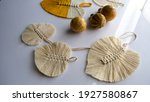 Macrame Leaves And Small...