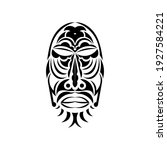 chief mask in the style of... | Shutterstock .eps vector #1927584221