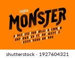 kids cartoon playful style... | Shutterstock .eps vector #1927604321