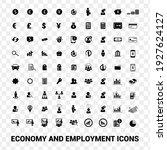 editable solid vector. economy... | Shutterstock .eps vector #1927624127