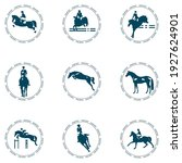 a set of emblems on the theme... | Shutterstock .eps vector #1927624901