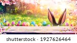 Abstract Defocused Easter Scene ...