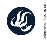 betta fish logo vector... | Shutterstock .eps vector #1927632131