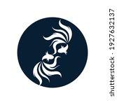 betta fish logo vector... | Shutterstock .eps vector #1927632137