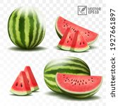 3d realistic transparent...   Shutterstock .eps vector #1927661897