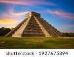 El Castillo  Temple Of Kukulcan ...
