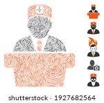 hatch mosaic based on medical... | Shutterstock .eps vector #1927682564