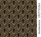 art deco style geometric...   Shutterstock .eps vector #1927721261