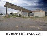 Old Abandoned Gas Station