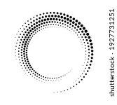 circular dot frame. circle... | Shutterstock .eps vector #1927731251