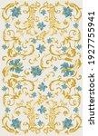 classic floral carpet design... | Shutterstock .eps vector #1927755941