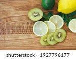 Yellow Lemon  Green Lime  Kiwi  ...