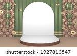japanese tone podium minimal... | Shutterstock . vector #1927813547
