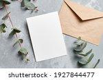 Wedding Invitation Card Mockup...