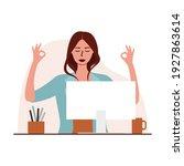 flat vector illustration of a... | Shutterstock .eps vector #1927863614