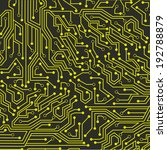 circuit board over gray...
