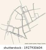 black simple detailed street... | Shutterstock .eps vector #1927930604