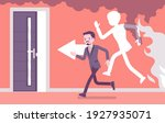 fire emergency evacuation for...   Shutterstock .eps vector #1927935071