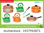 find and mark two identical... | Shutterstock .eps vector #1927942871