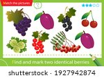 find and mark two identical... | Shutterstock .eps vector #1927942874