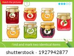 find and mark two identical... | Shutterstock .eps vector #1927942877
