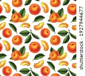 seamless pattern design with... | Shutterstock .eps vector #1927944677