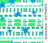 horizontal stripes and stars... | Shutterstock .eps vector #1927948574