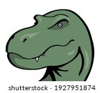 head of a terrible... | Shutterstock .eps vector #1927951874