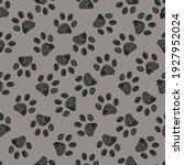 seamless pattern for textile... | Shutterstock .eps vector #1927952024