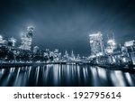 city of melbourne at night | Shutterstock . vector #192795614