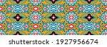bandana print. vector seamless... | Shutterstock .eps vector #1927956674