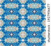 bandana print. vector seamless... | Shutterstock .eps vector #1927956677