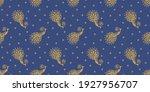 bandana print. vector seamless... | Shutterstock .eps vector #1927956707