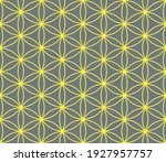 seamless vector with geometric... | Shutterstock .eps vector #1927957757