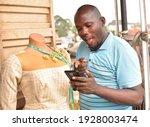 A Male African Nigerian Fashion ...
