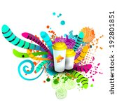 advertising  and promotion...   Shutterstock .eps vector #192801851